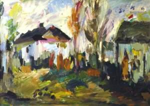 Hungarian Landscape, Sánta László